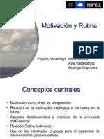 1. Motivación y Rutina T 2º
