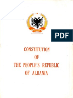 Constitution of the People's Republic of Albania