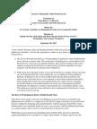 "Testimony on ""Toward a Financially Viable Postal Service"""