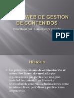 Pagina Web de Gestion de Contenidos