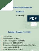 Lecture 3 Judiciary