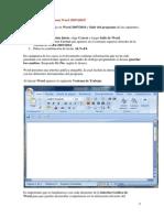 Interfaz de Word 2007