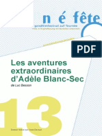 LES AVENTURES EXTRAORDINAIRES D'ADÈLE BLANC-SEC     - 