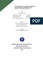 Inventarisasi Aspek Dan Elemen Spiritual Pada Masyarakat Perkotaan Kota Makale, Tana Toraja
