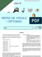 6- Repàs vocals i diftongs