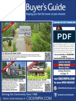 Coldwell Banker Olympia Real Estate Buyers Guide September 28th 2013