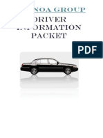 The Noa Group Driver Packet
