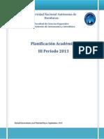 Planificación Académica III Período 2013 Viernes (FINAL)