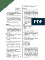 lista exercícios - reações orgânicas
