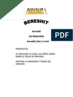 Parashat Berishít # 1 Inf 6013