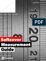 Softcover Measurement Guide