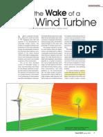 Wake Effect of a WT Wind Turbulence