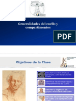 03 Generalidades Del Cuello y Compartimentos Musculos y Fascias UFT