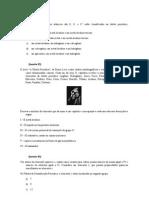 lista de exercícios tabela periódica