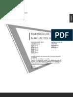 Manual Televisor LG LED