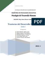 Monografia Trastorno Desarrollo Humano Chincha