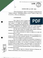 Homologacion MT 482-2013-A Acuerdo Salarial Comercio 2013