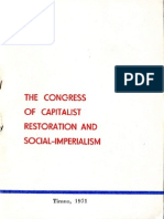 The Congress of Capitalist Restoration and Social-Imperialism