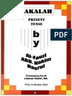 86280672 Simple Present Tense PDF