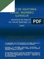 Extra Clase - Radiologia Miembro Superior - Dr. Martinez