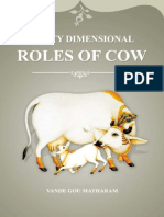 Multy Dimensional Roles of Cow
