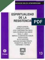RIBLA 13-Espiritualidad de La Resistencia