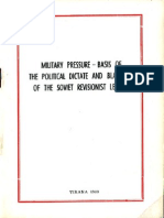 Military Pressure - Basis of the Political Dictate and Blackmail of the Soviet Revisionist Leaders
