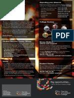 College Handbook Leaflet