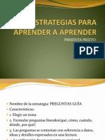 Estrategias Para Aprender a Aprender