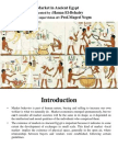 Market in Ancient Egypt[1]