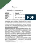 Ant. Urbana I - Claudio Cerda