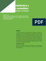 Arquitectura y construcción sostenibles