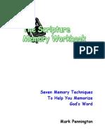 The Scripture Memory Workbook