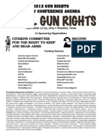 28th Annual Gun Rights Policy Conference Agenda