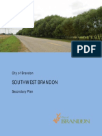 Southwest Brandon Secondary Plan (draft)