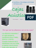 Cajas Acusticas-prof Navarro