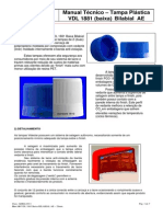 Manual Técnico VDL Baixa 1881