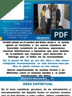Informe Misionero a Junio 2013 - Barranquilla, Distrito 8