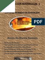 TIPOS DE HORNOS DE FUNDICIÓN