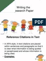 APA Format Guidelines