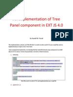 Tree Extjs
