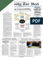 The Daily Tar Heel for September 26, 2013