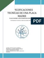 Trabajo Monografico-ficha Tecnica de La Placa Madre