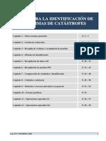 Interpol - Guía Para la Identificación de Cadáveres en Catásrofes