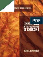 2013 Christian Interpretations of Genesis 1