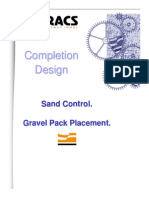 Tracs International - Completion Design - Gravel Pack Placement