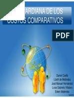 Ley Ricardiana de Costos Comparativos