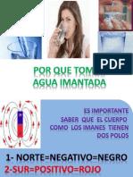 Agua Imantada Beneficios