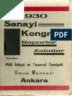 1930 Sanayi Kongresi