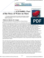 Planetary Science Mars Research 1